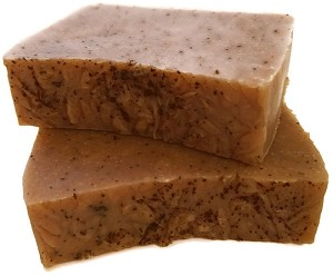 """6 AM"" Coffee-Infused Soap"