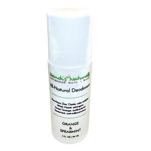 Orange + Spearmint Deodorant Roll-on