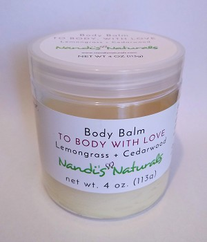 """To Body, With Love"" Body Balm"